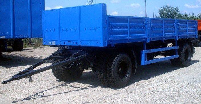 KAMAZ SZAP-8357-02 remorcă platformă cu obloane nou