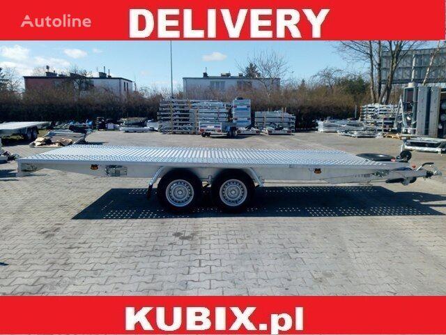 remorcă transport auto KUBIX Przyczepa Mustang-Strong NT22 Mars blacha 5x2 o DMC 3000kg nou