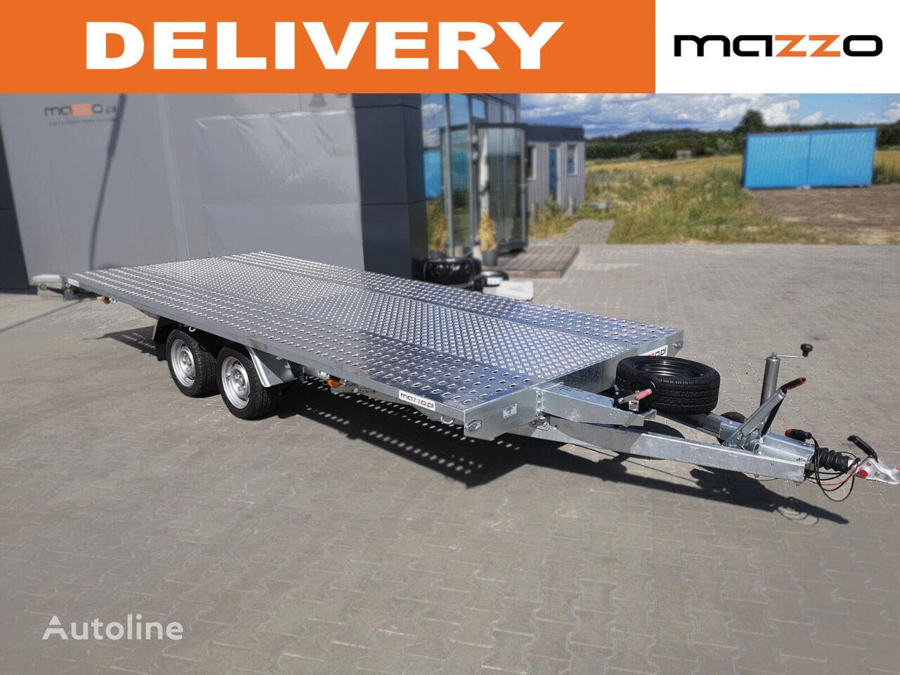 remorcă transport auto M4027 400x210cm 2700kg platform nou