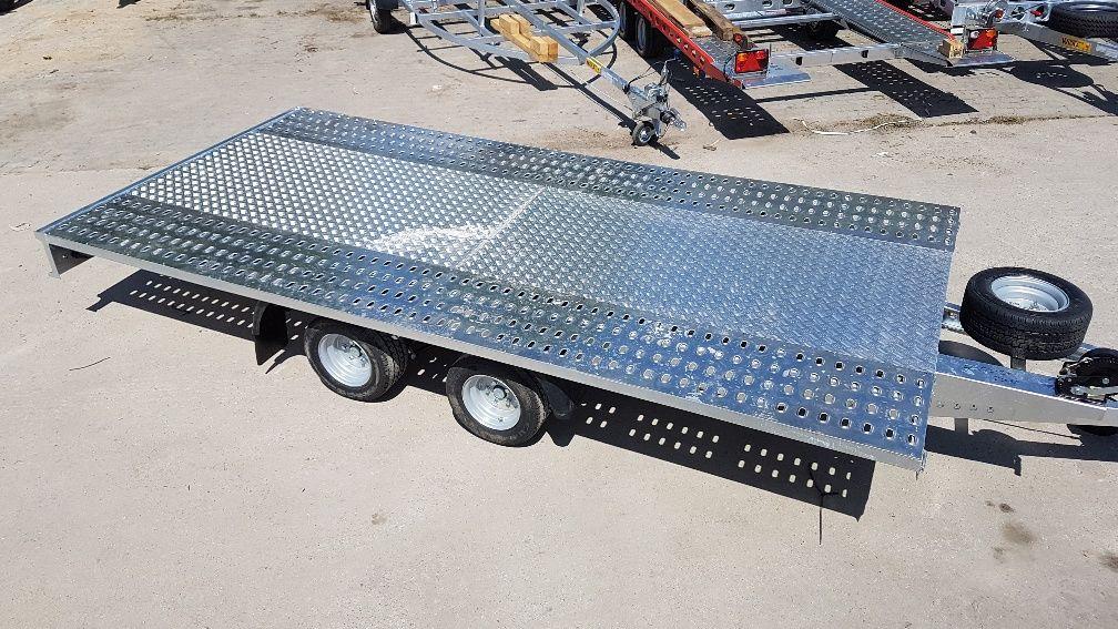 remorcă transport auto NIEWIADOW M4027 nou