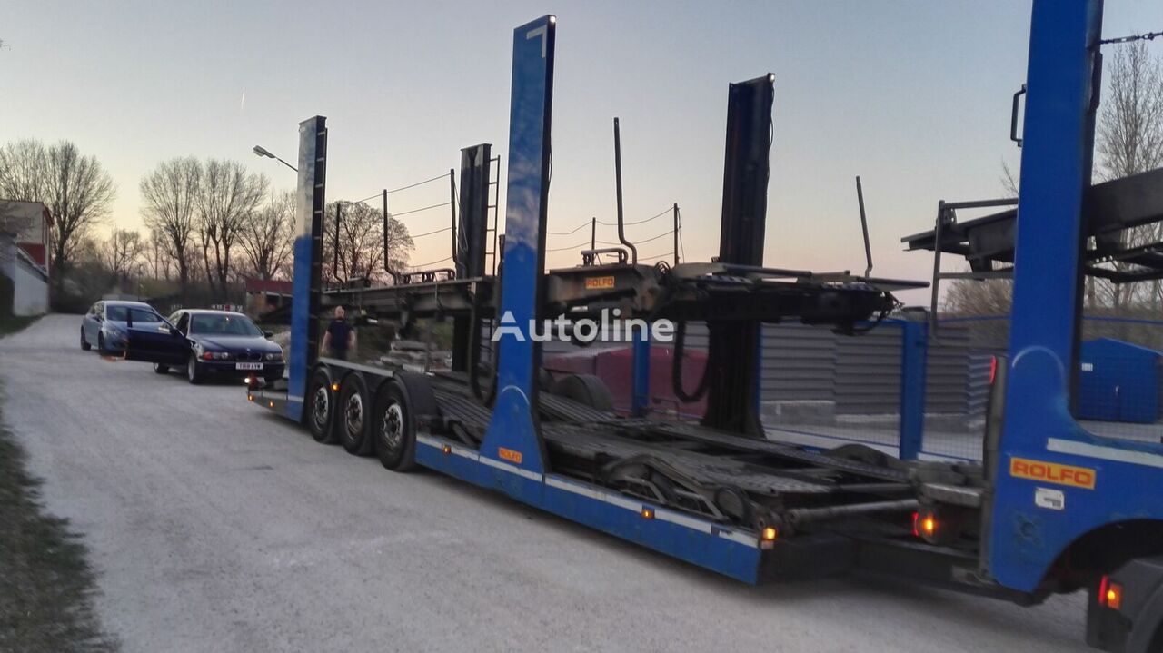 remorcă transport auto ROLFO 11 cars max. - 8 with EU height
