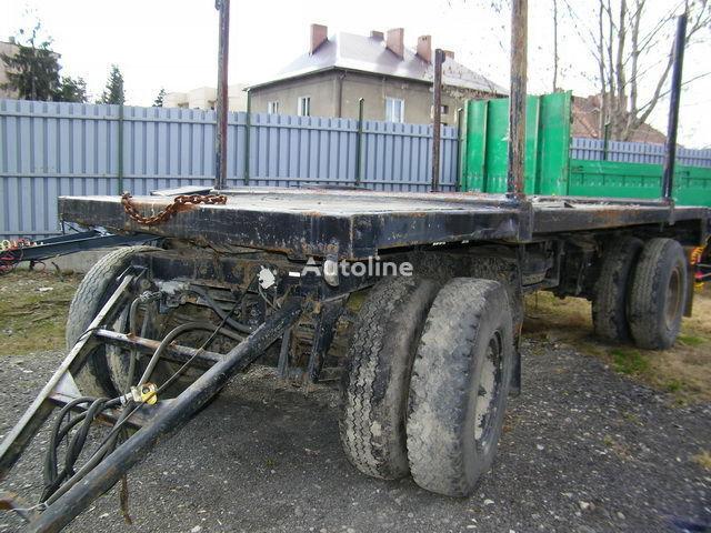 PV 1612 remorcă transport de lemne