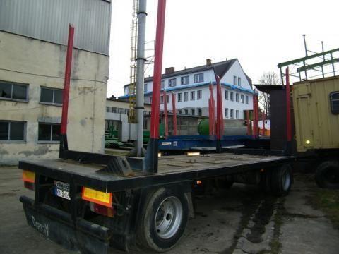 TRAILOR R 202 EN 3 L remorcă transport de lemne