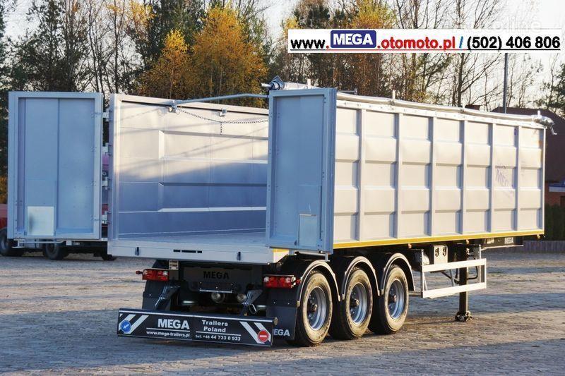 MEGA 10,4 M(L) / 50 M³ DOMEX/OPTIM 650 TIPPER - SCRAP DOOR - READY ! semiremorcă basculantă nouă