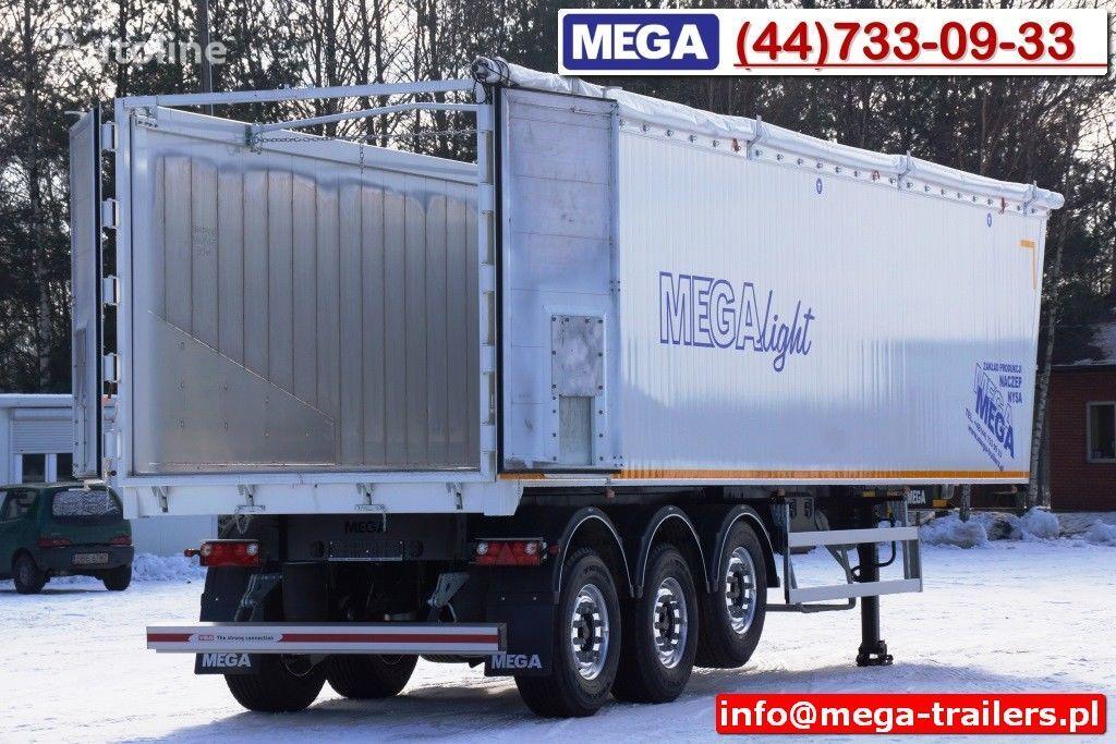 MEGA 10,4 m / 60 M³ ALUM TIPPER SUPER LIGHT 6,2 T ! READY & NEW ! semiremorcă basculantă nouă