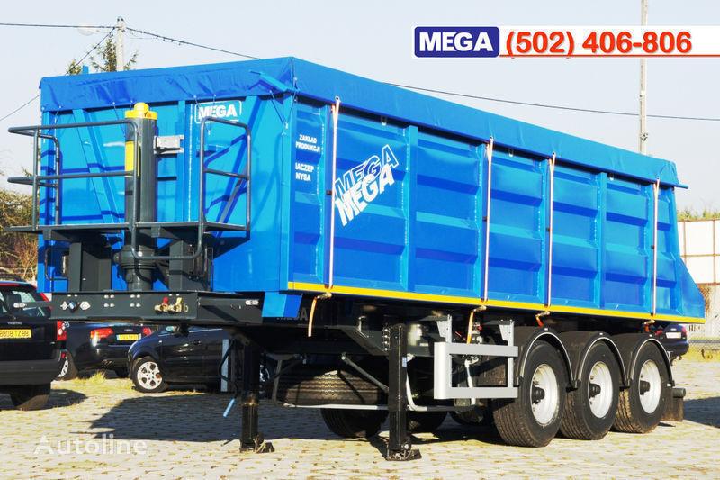 MEGA 35/9200 kcc - camosval 35 kub.m., pama k tyagachu 6x4, klapan! semiremorcă basculantă nouă
