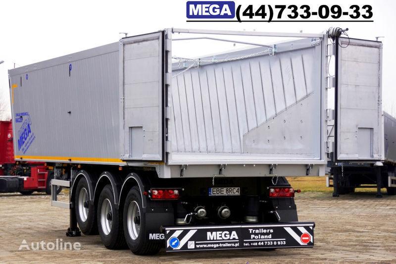 MEGA 39/8360KD- camosval 39 kbm, alyuminievyy, klapan-dverey GOTOV! semiremorcă basculantă nouă