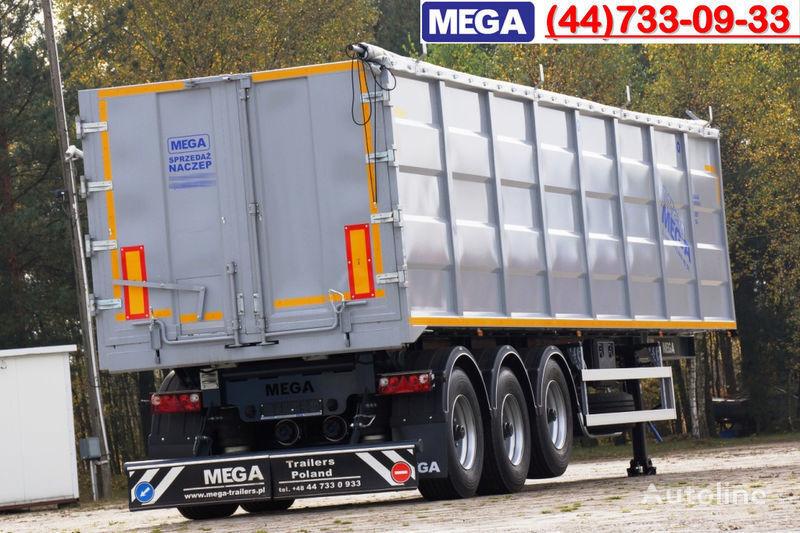MEGA 50 M³ TIPPER FOR SCRAP & IRON DOMEX 650 !READY ! semiremorcă basculantă nouă