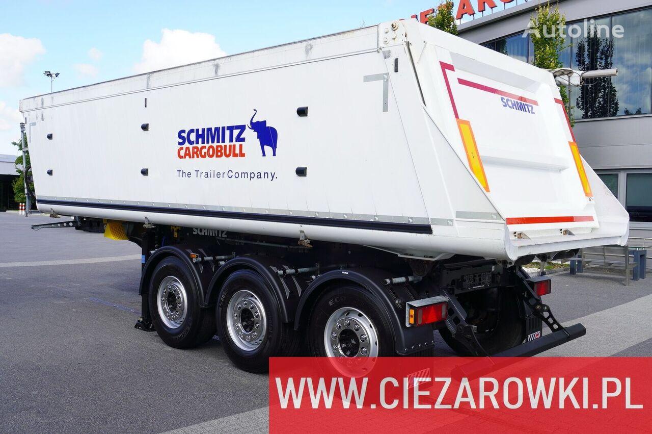 semiremorcă basculantă SCHMITZ CARGOBULL Gotha SGF-S3 , 29m3 , lift axle , 2019, LIKE NEW