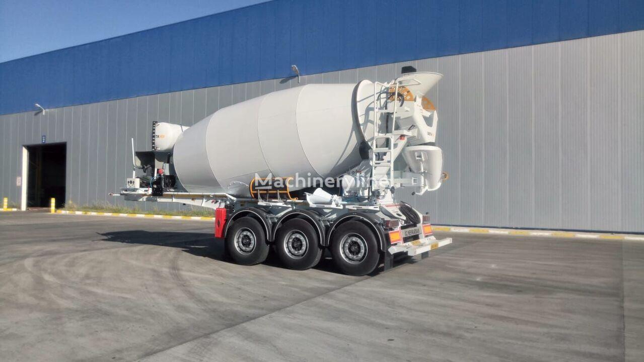 semiremorcă betoniera EXPOTRAILER nou