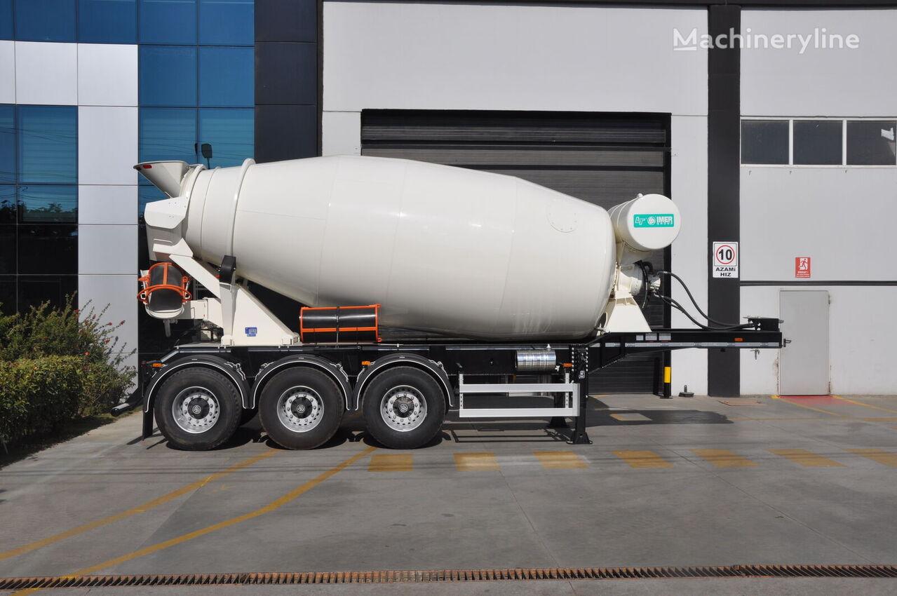 semiremorcă betoniera OKT TRAILER 3 AXLE MIXER SEMI TRAILER nou
