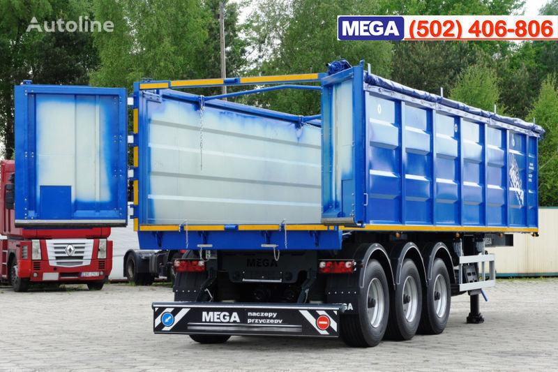 MEGA 38/10200 KD pama k tyagachu 6x4 semiremorcă cereale nouă