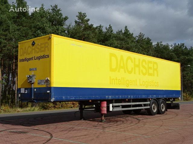 semiremorcă furgon SAMRO DOPELSTOCK