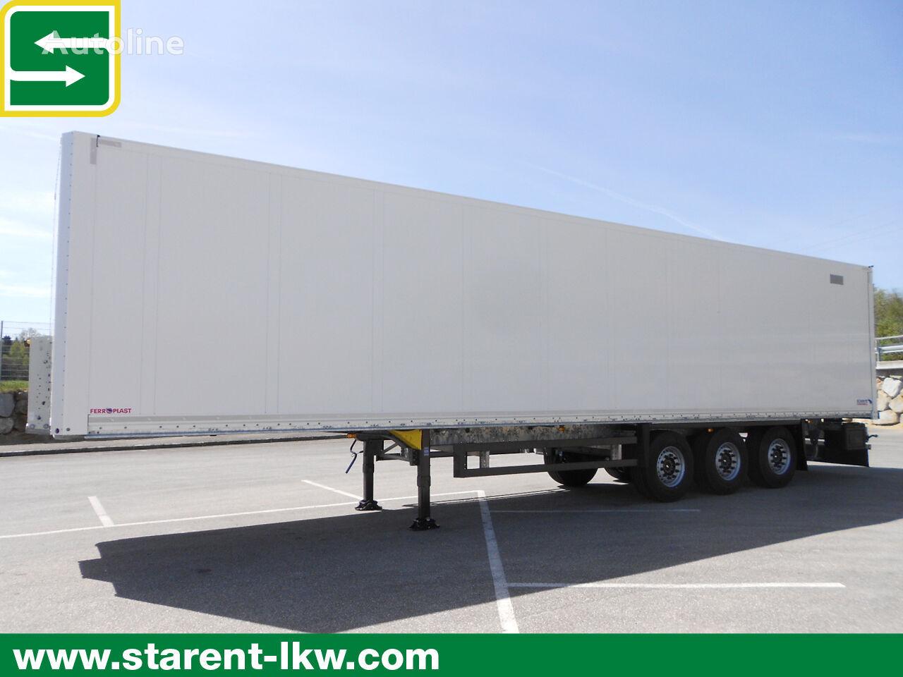 semiremorcă furgon SCHMITZ CARGOBULL Trockenfrachtkoffer, Doppelstock, Liftachse, Zurrleiste