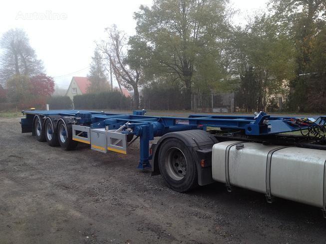 20FT,2 X 20FT,30FT,40FT, semiremorcă pentru transport containere