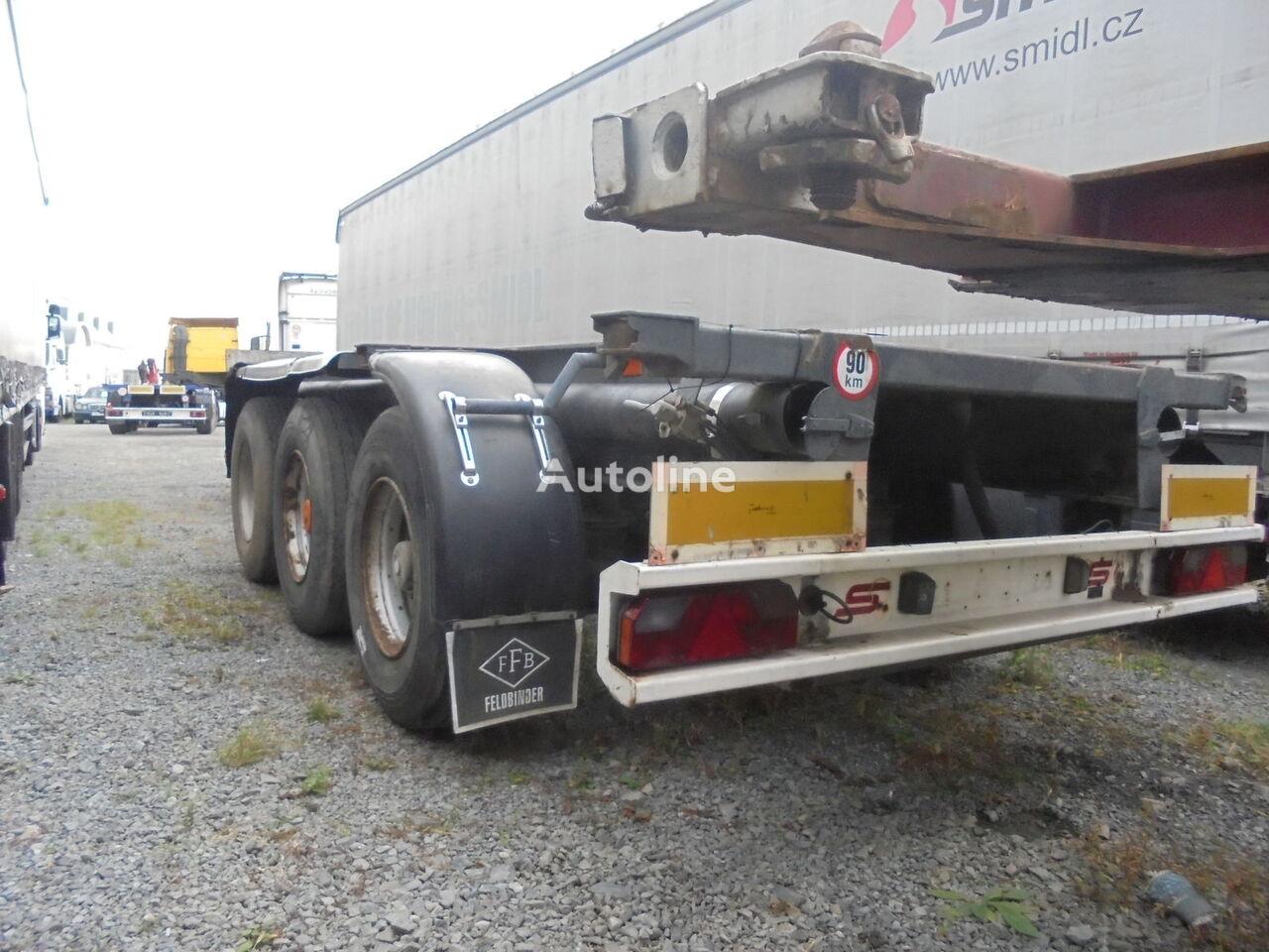 semiremorcă pentru transport containere HANGLER 3SCOL / BDF / Kontainer