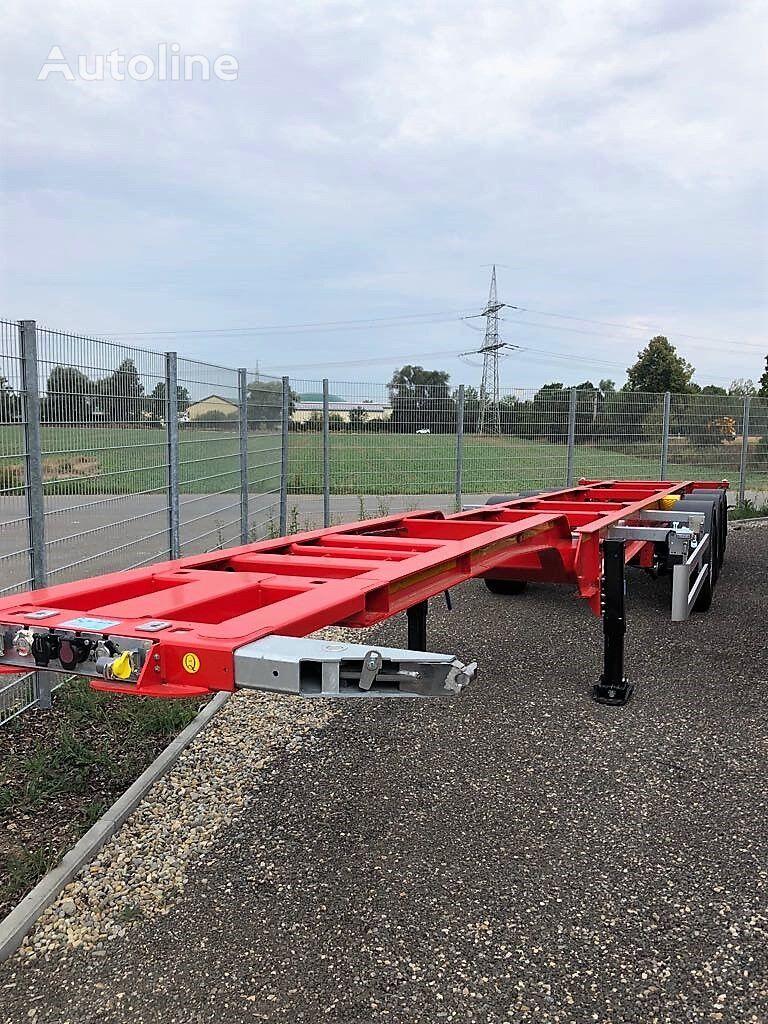 semiremorcă pentru transport containere KASSBOHRER SHG nouă