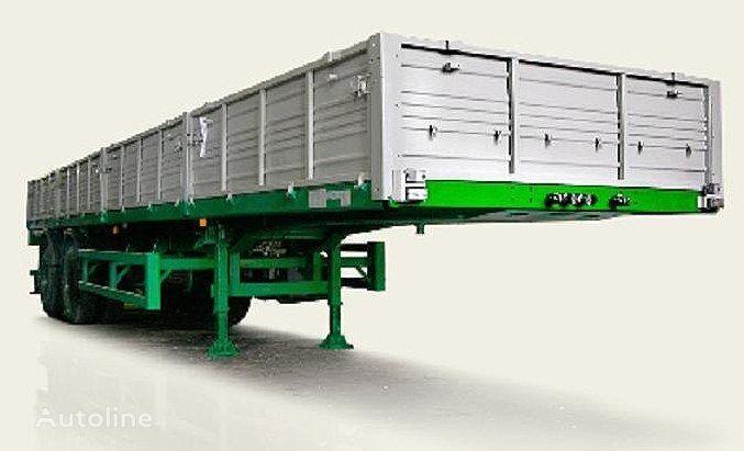 MAZ 938660 semiremorcă platformă cu obloane nouă