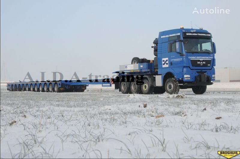 BROSHUIS 12 Axles semiremorcă transport agabaritic nouă