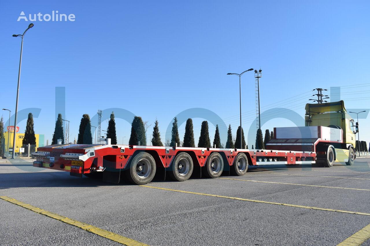 semiremorcă transport agabaritic DONAT 4 axle extendable lowbed nouă