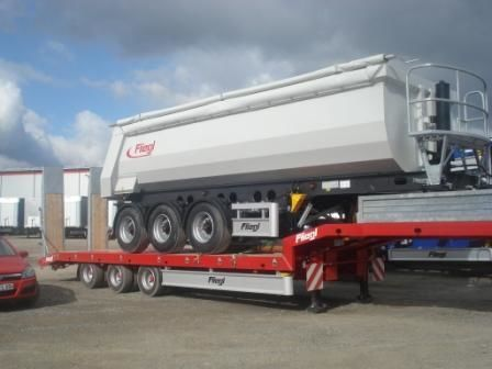 FLIEGL SDS 470 T semiremorcă transport agabaritic