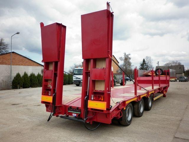JANMIL  WABCO with ramps 30000 kg  semiremorcă transport agabaritic nouă