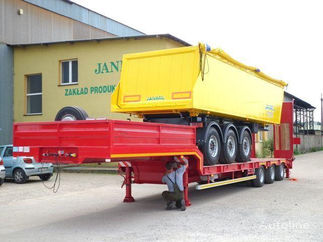 JANMIL Nizkoramnaya, Tieflader, Low loader, SAF - neu!!! semiremorcă transport agabaritic nouă