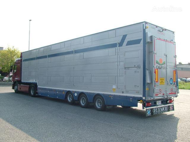 PEZZAIOLI SBA31  3+3 etazha zagruzki semiremorcă transport animale nouă