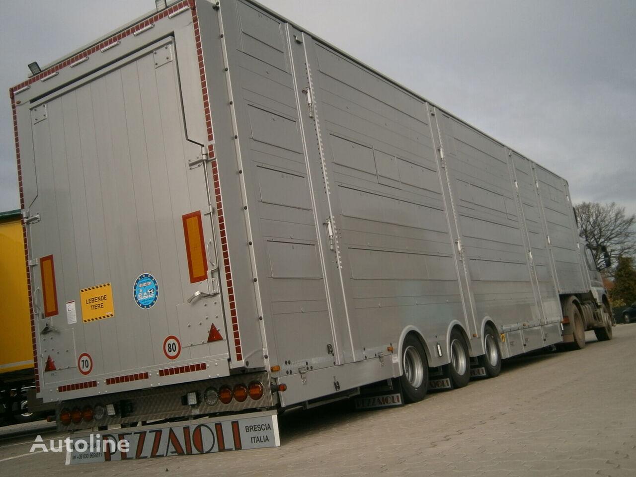 semiremorcă transport animale PEZZAIOLI SBA31-SR verfügbar SOFORT nouă
