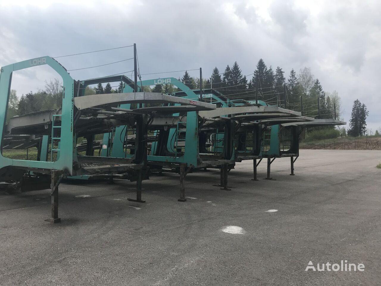 semiremorcă transport auto LOHR Eurolohr 1.21