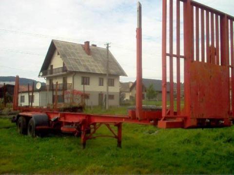 IWTHL SCHLUTUP FS 4020 semiremorcă transport de lemne