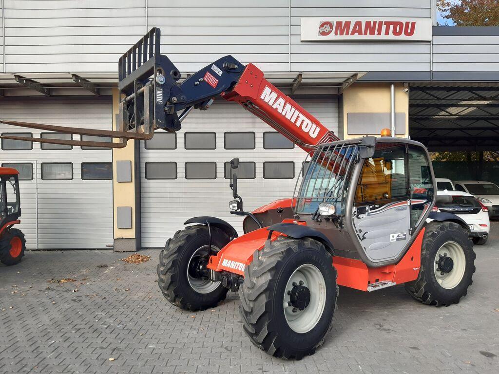 încărcător telescopic MANITOU MT 732-75 Easy