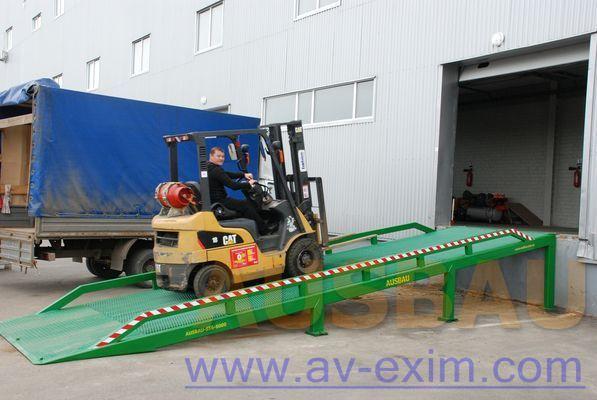 AUSBAU AUSBAU-ST Fixed ramp , Stacionarnaya rampa , Dock ramp , laadbrug mobil rampa nou