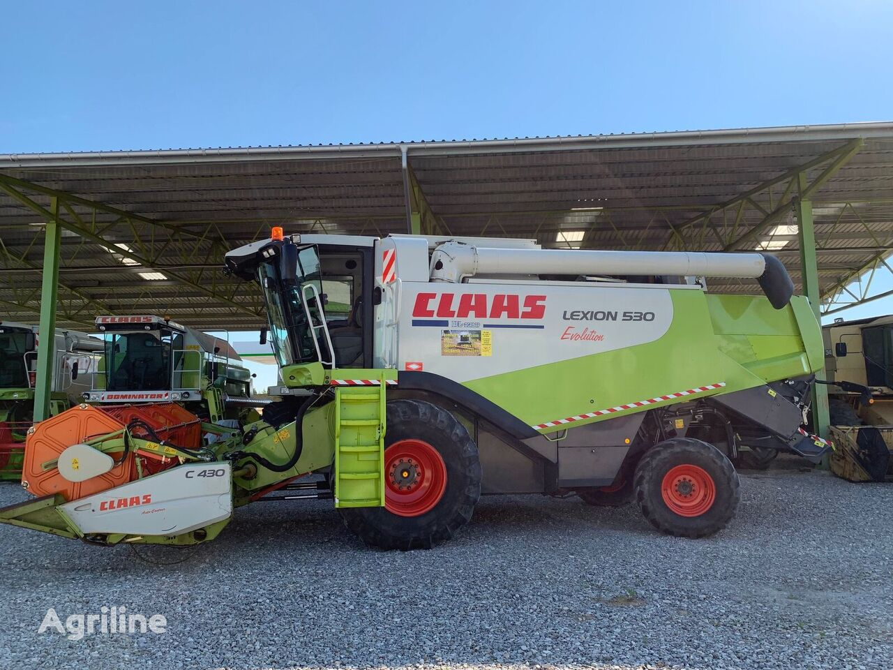 combină CLAAS LEXION 530 Evolution