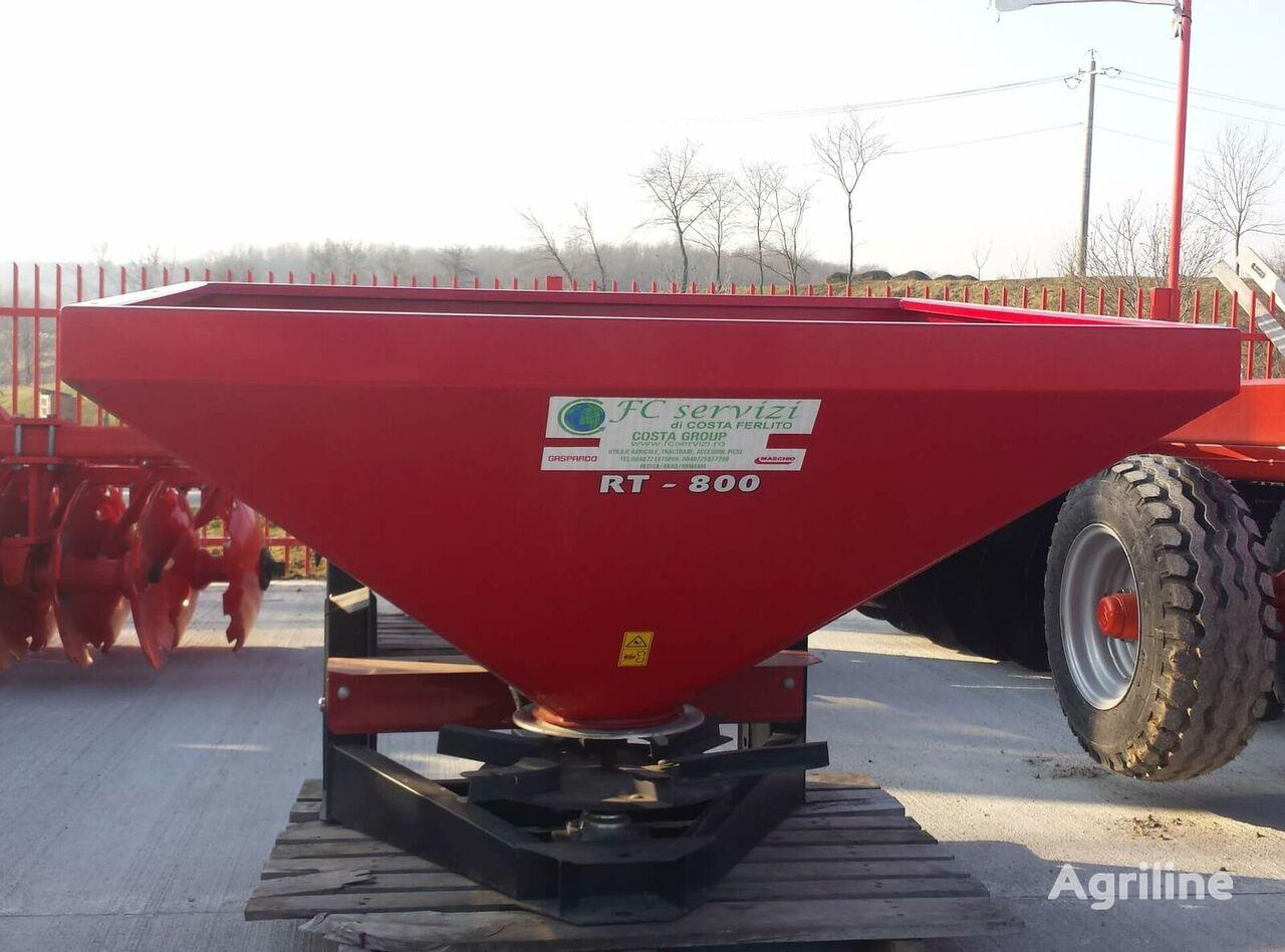 distribuitor de îngrăşăminte Fertilizator pătrat model Spreader MT 18 pentru azot nou