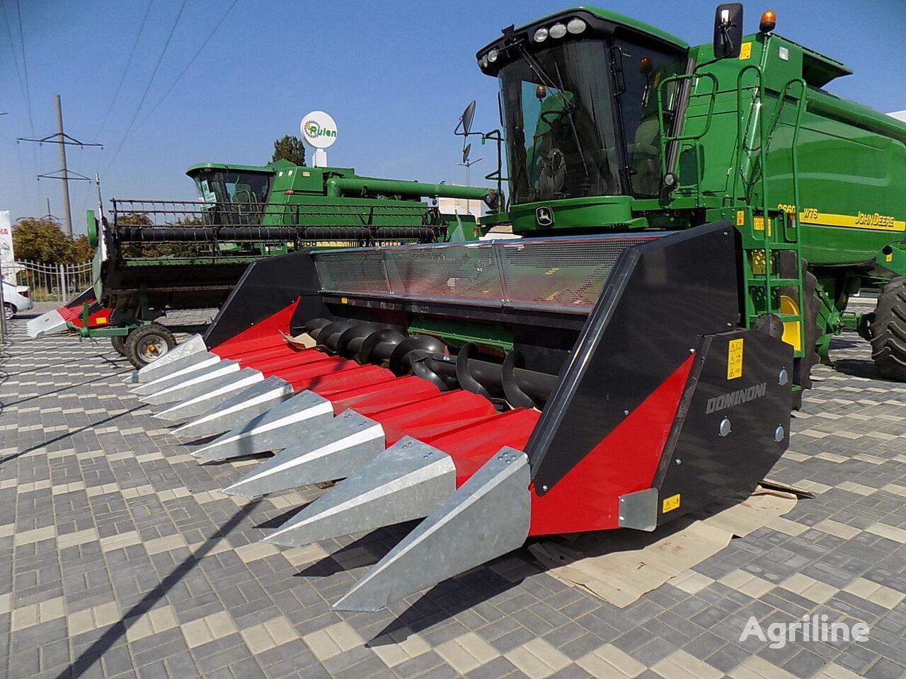 echipament recoltat floarea soarelui Dominoni TOPSUN GT908 CLAAS JOHN DEERE nou