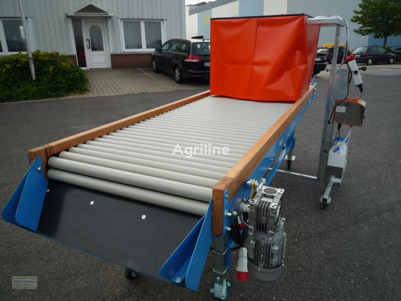 mașină de spălat zarzavaturi Sprühgerät Mobil 1, NEU Lagertechnik nou