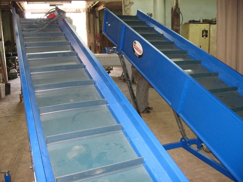 transporter (konveyer) maşină de sortat