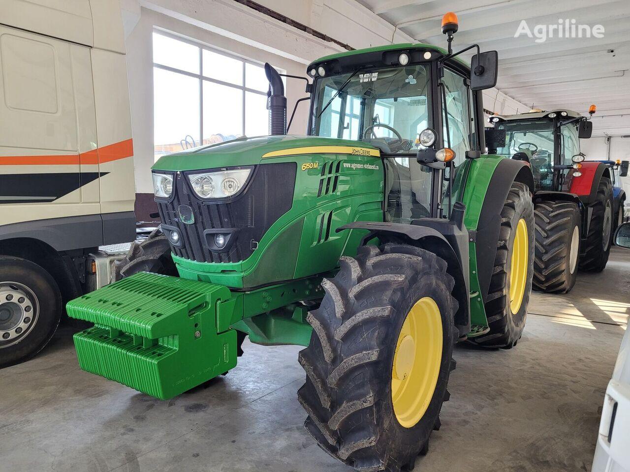 tractor cu roţi JOHN DEERE 6150M