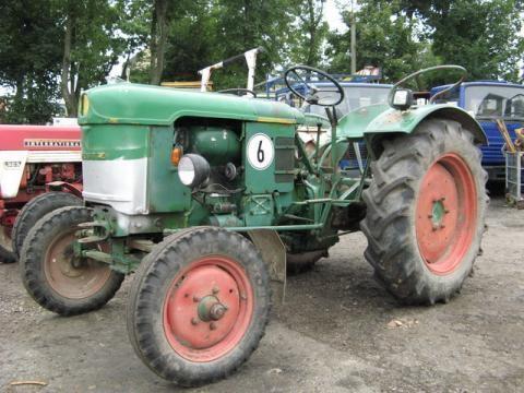 DEUTZ-FAHR D 25 S-N tractor cu roţi