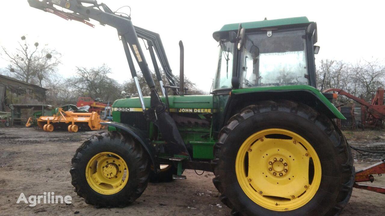 JOHN DEERE 3350 + Frontalnyy pogruzchik Stoll ALS 3 tractor cu roţi