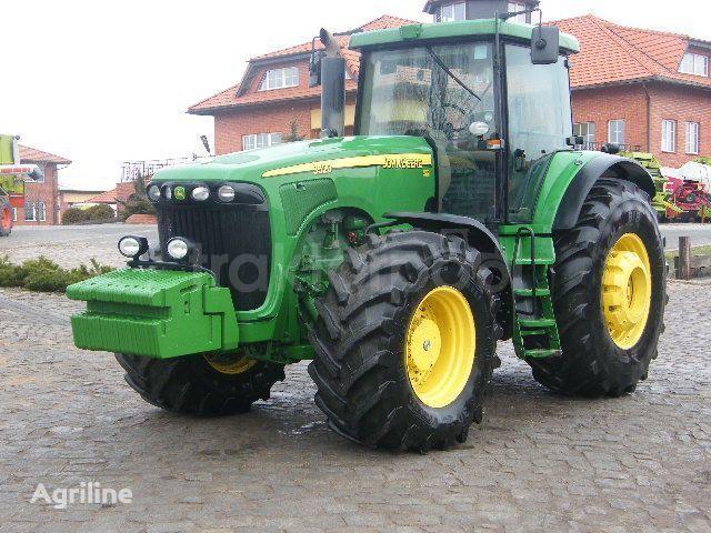 JOHN DEERE 9520 tractor cu roţi