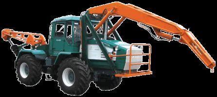 HTA-200-BKM tractor cu roţi