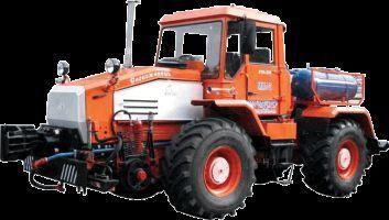 MMT-2  Manevrovyy motovoz na baze traktora HTA-200  tractor cu roţi