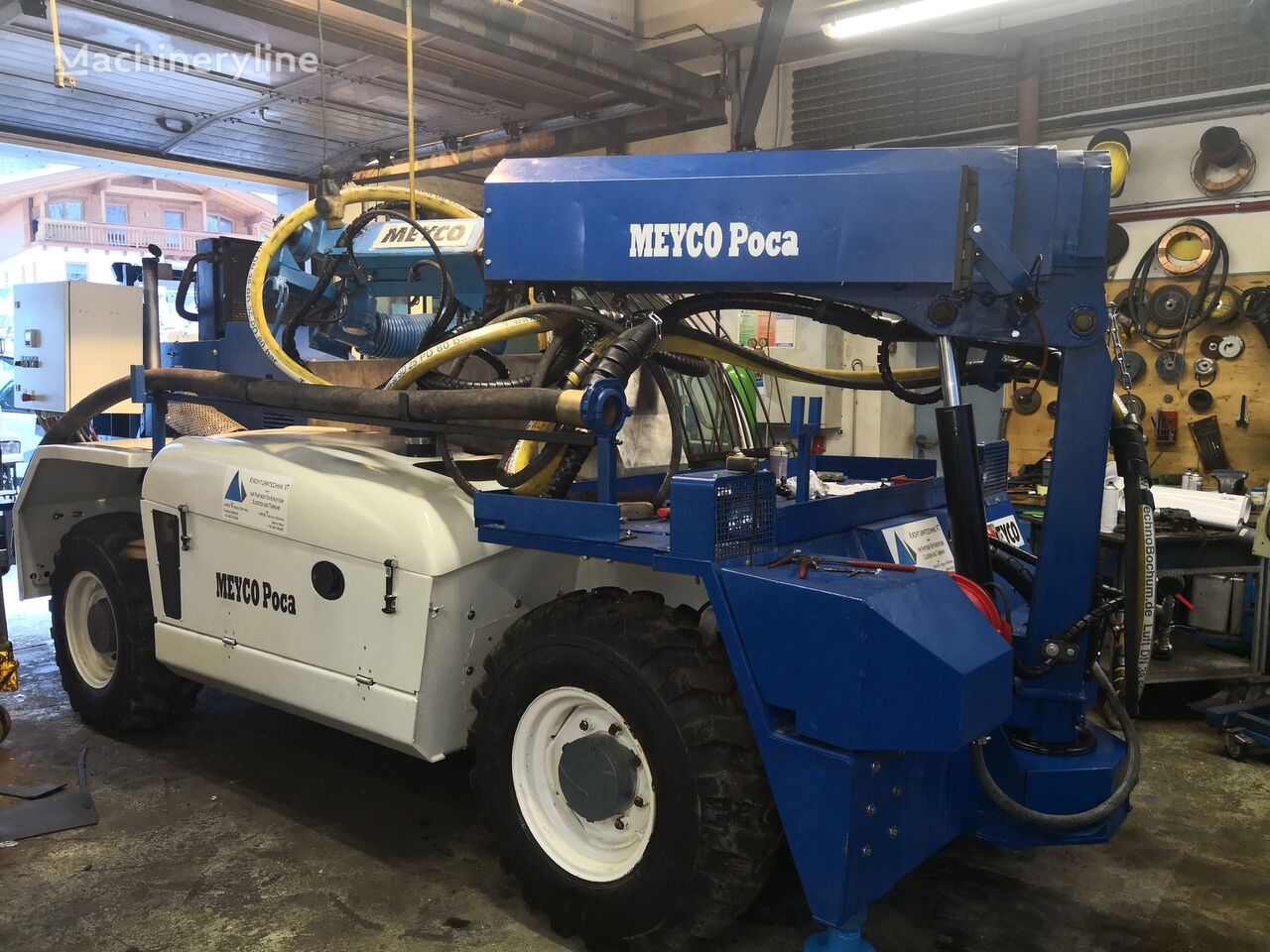 alt echipament subteran MEYCO Poca