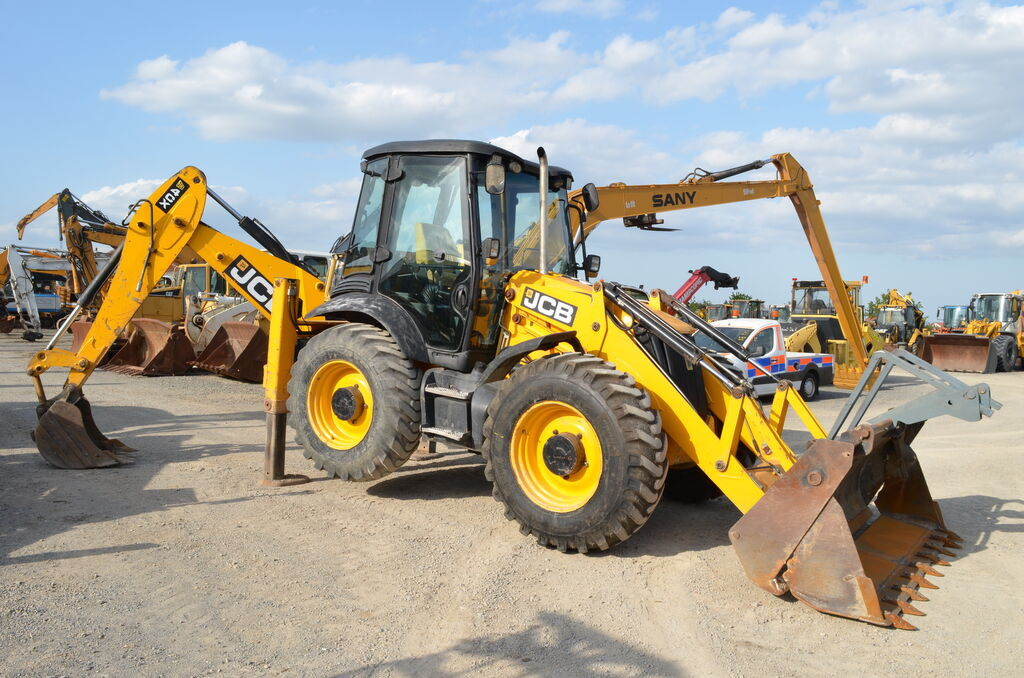 buldoexcavator JCB 4CX