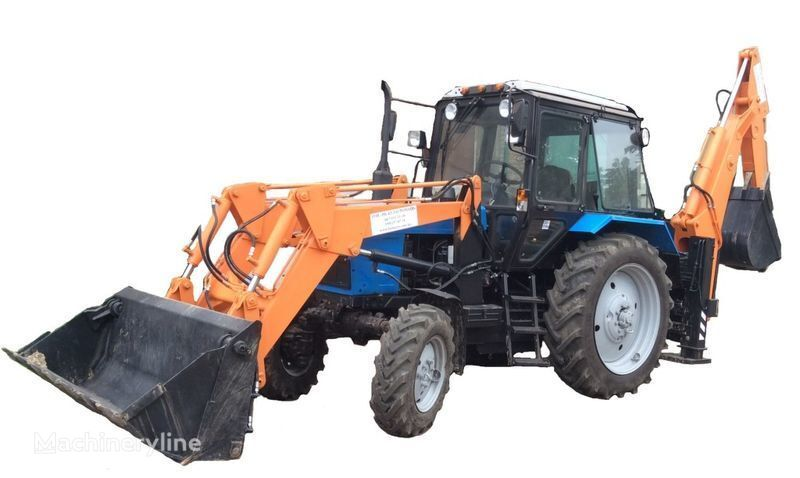 MTZ  BAM-2014 buldoexcavator