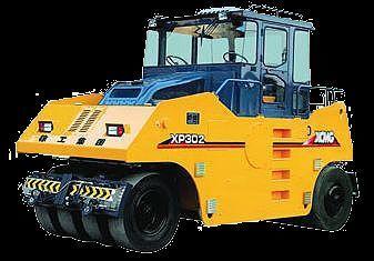 XCMG XP302  cilindru compactor pe pneuri nou