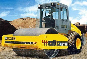 XCMG XS142 cilindru compactor pentru terasamente nou