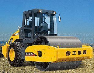 XCMG XS222 cilindru compactor pentru terasamente nou